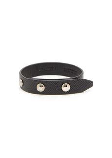 Burberry Grained-leather bracelet