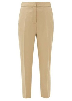 Burberry Hanover wool cropped trousers
