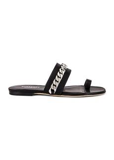 Burberry Heidi Chain Sandals