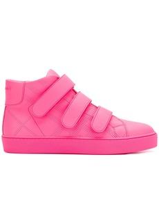 Burberry hi-top sneakers - Pink & Purple