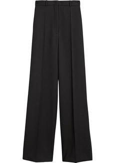 Burberry wide leg wool trousers