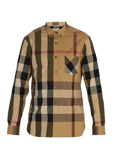 Burberry House Check button-down shirt