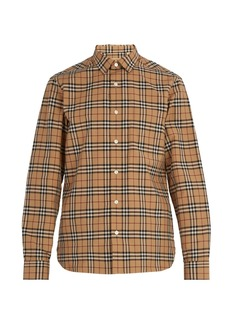 Burberry House Check cotton shirt