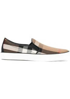 Burberry House check sneakers - Brown