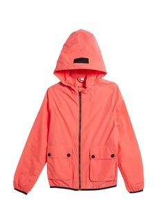 Burberry Hurst Hooded Rain Jacket