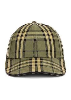 Burberry Icon Check Baseball Cap