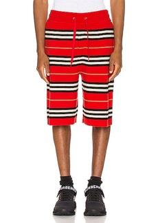 Burberry Icon Stripe Bermuda Shorts