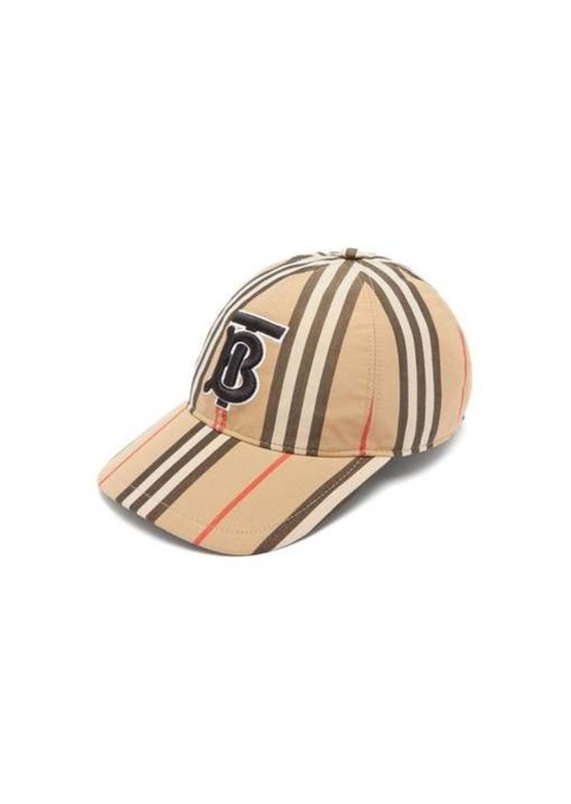 Burberry Icon-stripe cotton baseball cap