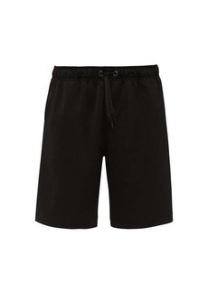 Burberry Icon-striped jersey basketball shorts