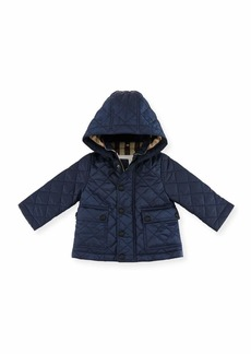 Burberry Jamie Quilted Hooded Jacket