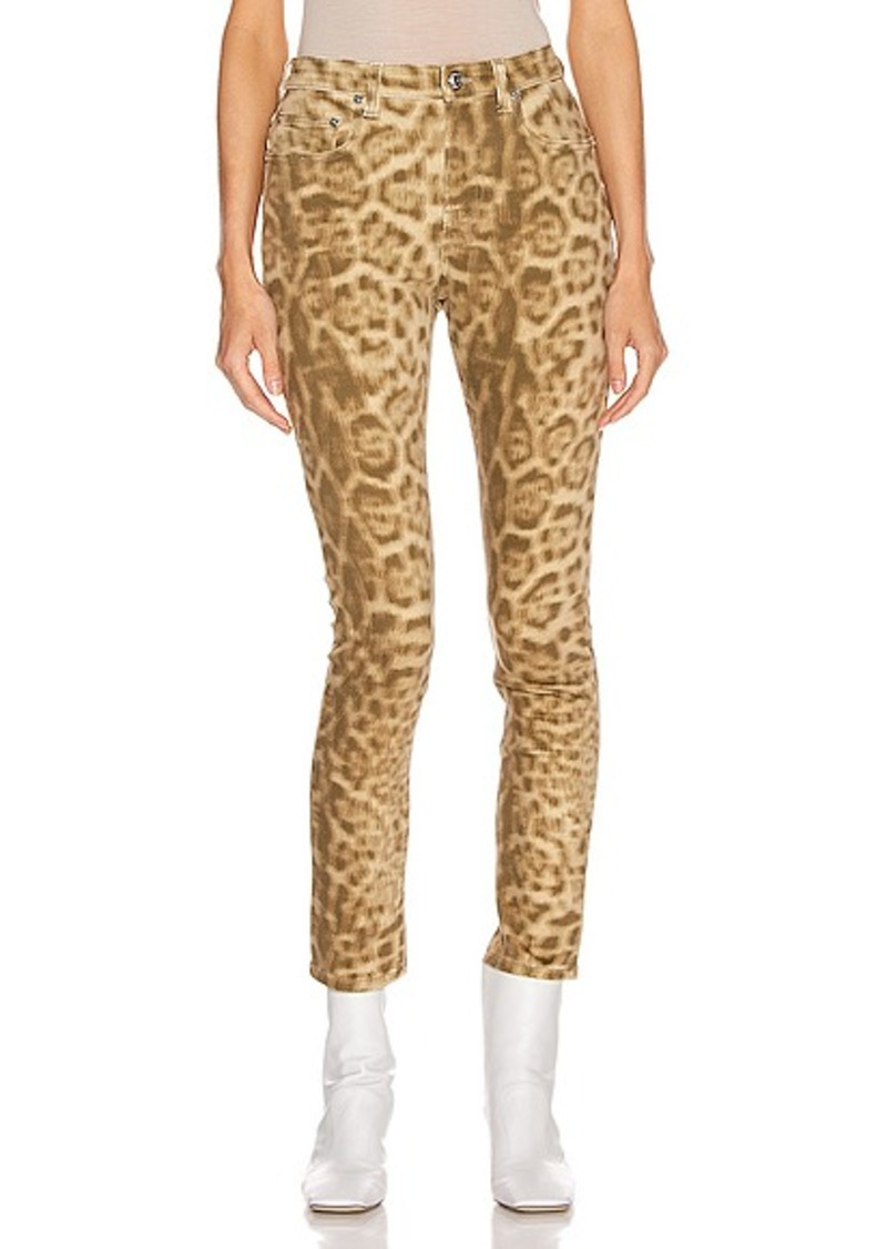 Burberry Joline Leopard Jean