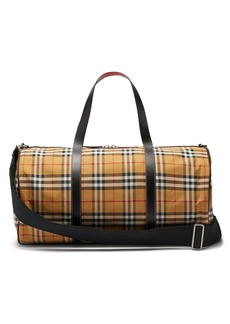 Burberry Kennedy Vintage-check weekend bag