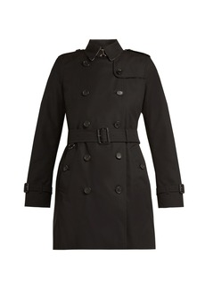 Burberry Kensington belted cotton trench coat