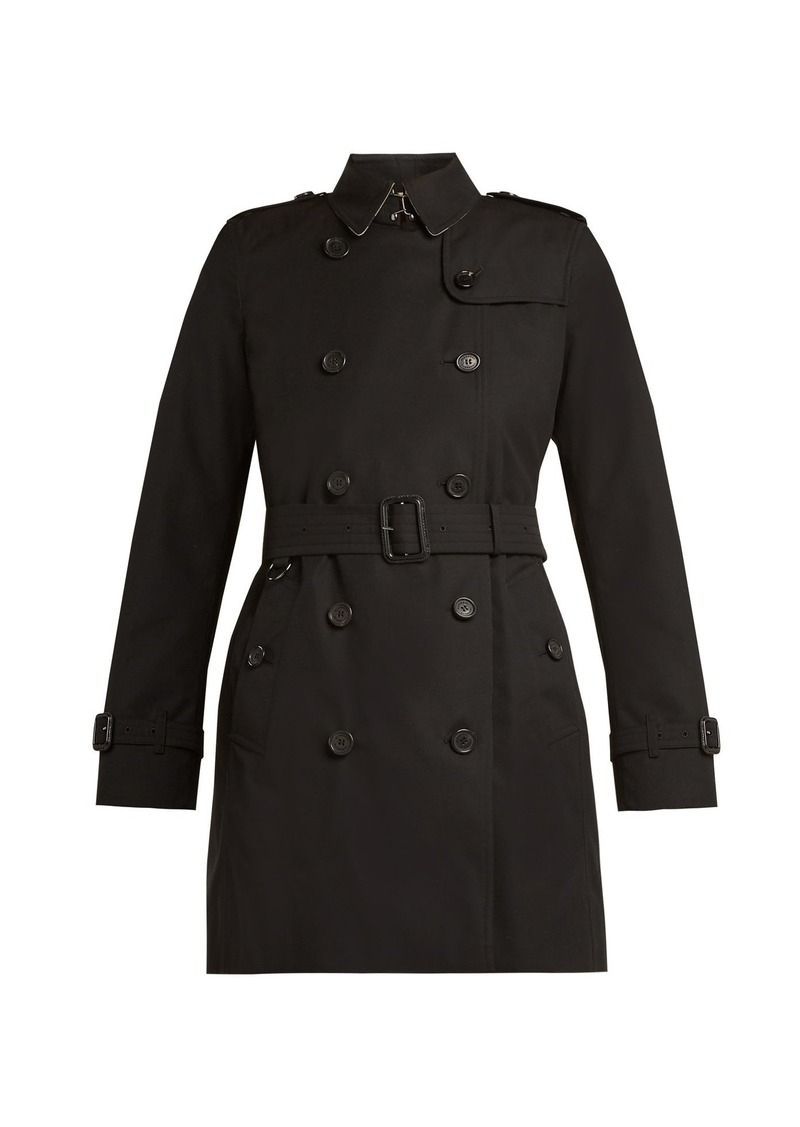 Kensington Cotton Burberry Coat Trench Outerwear Belted Pwqf1qd