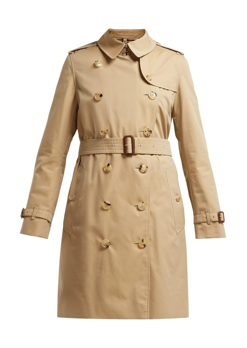 6e0894e78 Burberry Burberry Kensington cotton-gabardine trench coat