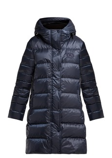 Burberry Kington hooded quilted-down coat