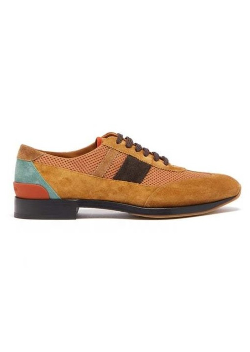 Burberry Kirkby suede and mesh trainers