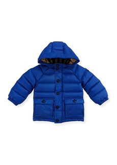 Burberry Lachlan Hooded Puffer Jacket