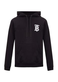 Burberry Landon TB-logo cotton hooded sweatshirt