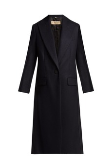 Burberry Landrake single-breasted cashmere coat