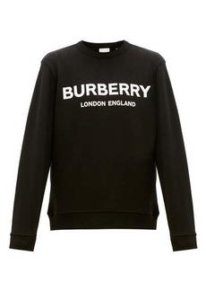 Burberry Lanslow logo-print cotton sweatshirt