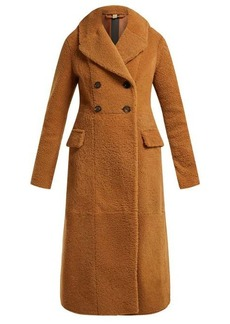 Burberry Levesham tan lambskin shearling coat