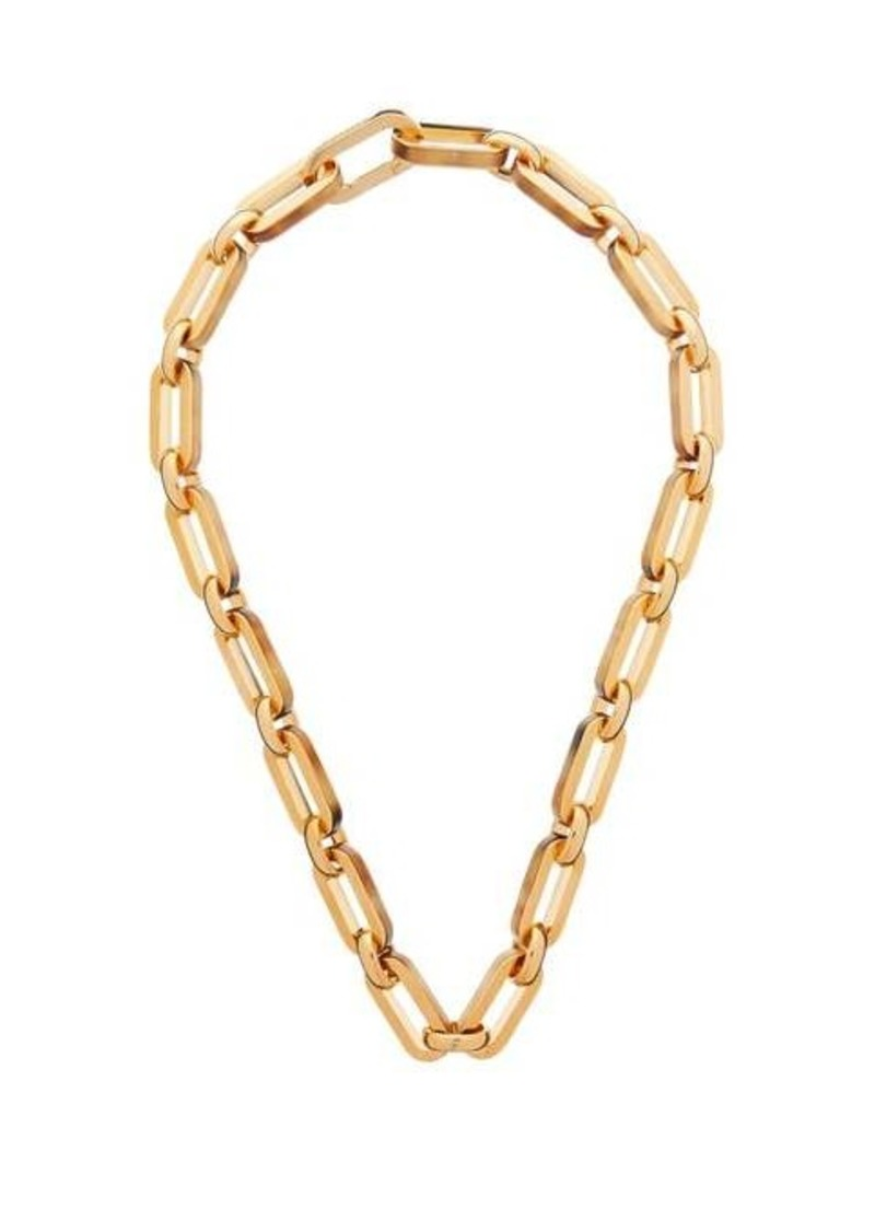 Burberry Link chain necklace