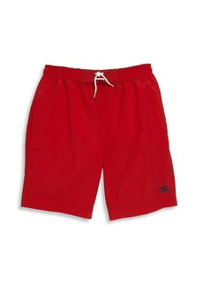 Burberry Little Boy's & Boy's Military Swim Trunks
