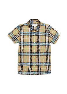 c8044d07e5a7 Burberry Marissan Check Shirt w  Matching Shorts   Shirts