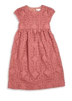 Burberry Little Girl's & Girl's Cap Sleeve Lace Dress