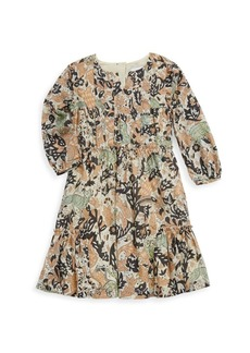 Burberry Little Girl's and Girl's Printed Cotton Dress