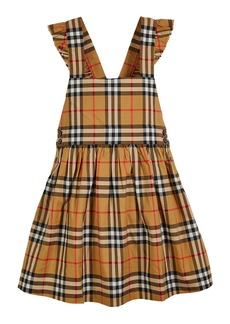 Burberry Livia Check Sun Dress  Size 3-14