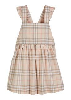 Burberry Livia Check Sun Dress  Size 3-14