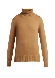 Burberry Lockeridge roll-neck cashmere-blend sweater