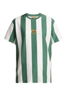 Burberry Logo-crest cotton T-shirt