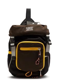 Burberry Logo-print mini backpack