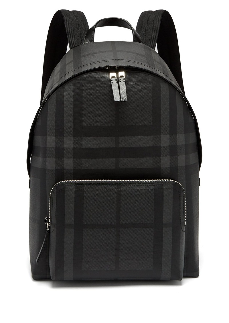 e6c9584a33d5 Burberry Burberry London-check PVC backpack