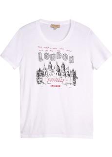 Burberry London Icons Print T-shirt - White