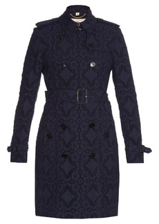 Burberry London Kensington broderie-anglaise trench coat