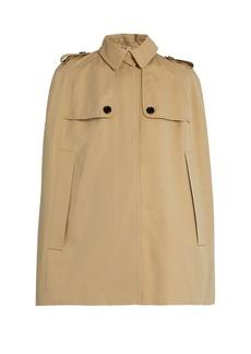 Burberry London Wolseley cotton-gabardine cape