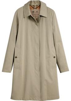 Burberry Camden Long Car Coat - Nude & Neutrals