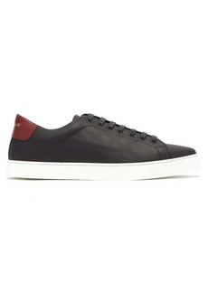 Burberry Low-top perforated leather trainers