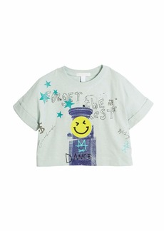 Burberry Lucinda Forget the Rest Graphic Tee