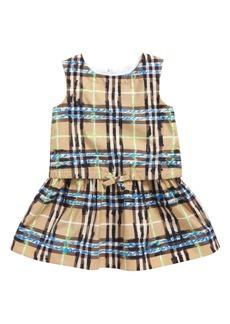 bb7cd97afed1 Burberry Crissida Long-Sleeve Striped Dress