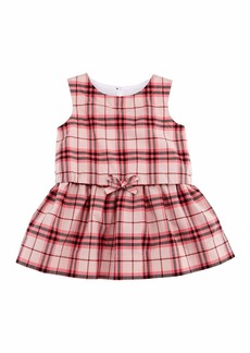 Burberry Maybel Drawstring Check Dress