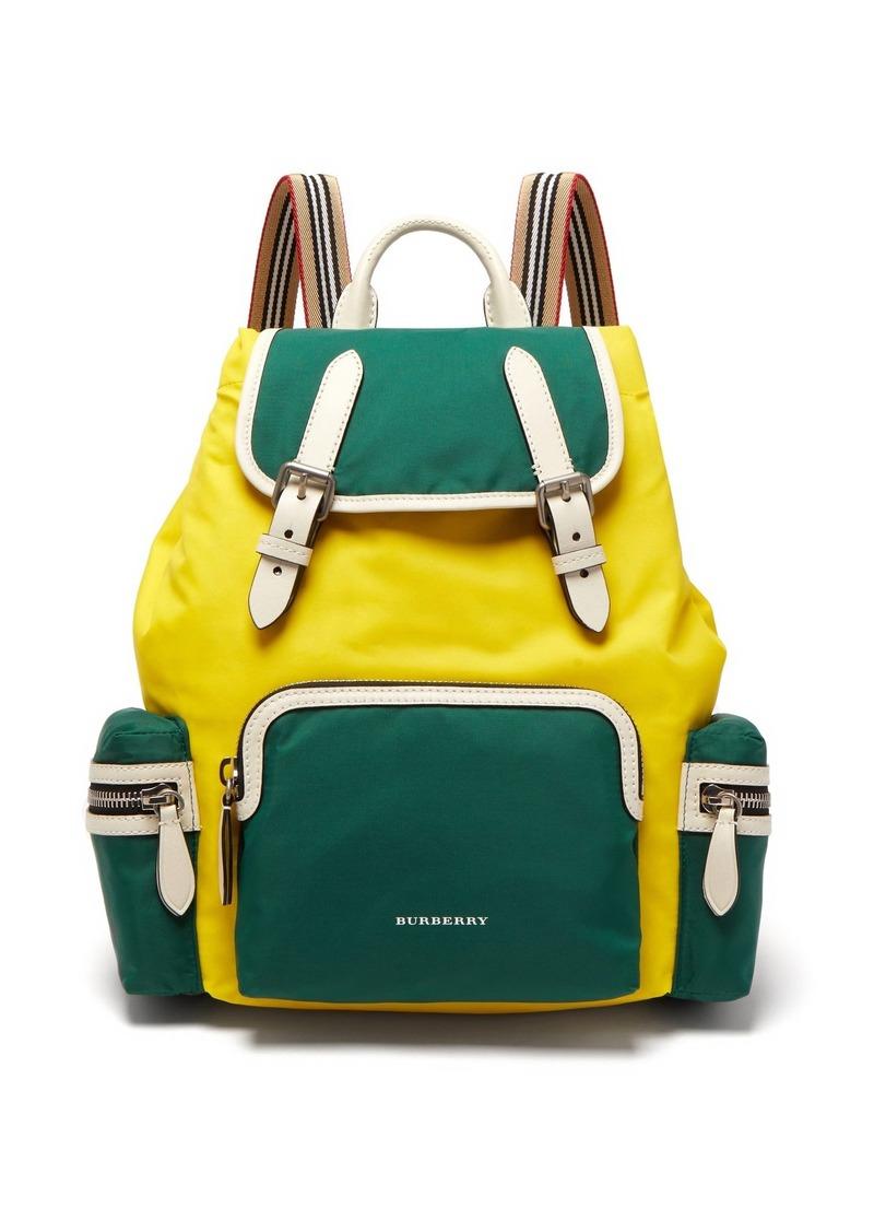0d697fe94839 Burberry Medium Nylon And Leather Backpack- Fenix Toulouse Handball