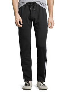 Burberry Men's Aiden Side-Striped Track Pants