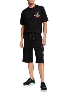 Burberry Men's Ailford Knit Cargo Shorts