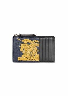 Burberry Men's Alwyn Zip-Top Card Case