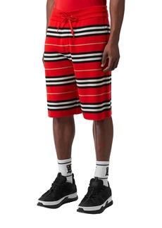 Burberry Men's Kenton Striped Wool Shorts
